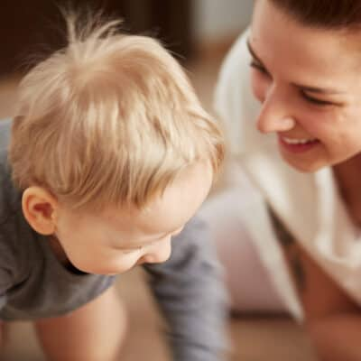 How to set the tone in your home for more happiness, less chaos and peaceful moments with your kids. Tools to help you be a happy mom and stay calm.