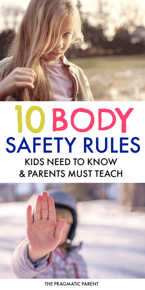 It's never too early to start the conversation and teach kids about body safety. Body safety rules to include in daily conversations and teach to young kids. #bodysafety #bodysafetyrules #keepkidssafefromabuse #protectkidsfrompredators #safetyrules #safetyrulestoteachkids #safetyconversationstohavewithkids