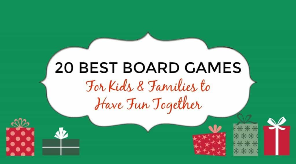 20 best Board Games for Kids
