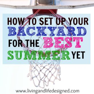 How to Set Up Your Backyard for the Best Summer Yet