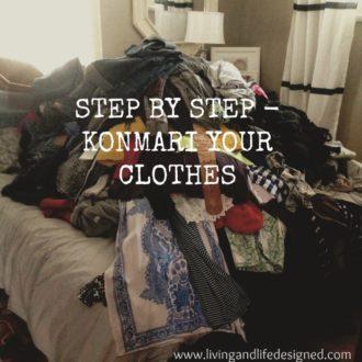 KonMari (Your Clothes + Home)