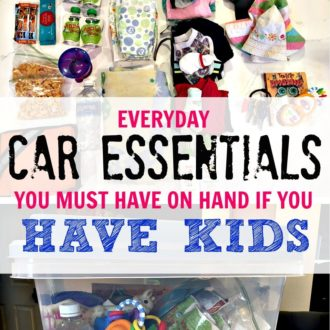 Must Have: Car Storage Kit If You Are a Parent