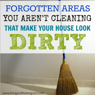 Little Areas You Forget to Clean That Make Your House Look Dingy