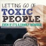Making the choice to let go of a toxic relationship is hard, its even harder when its a family member. Letting go of Toxic People and how to cope when family is toxic. Walk away from family when the person hurting you is supposed to love you. Choose to let go of toxic people for your health and happiness. Letting go of family.