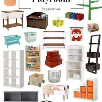 Playroom Organization – Furniture + Storage
