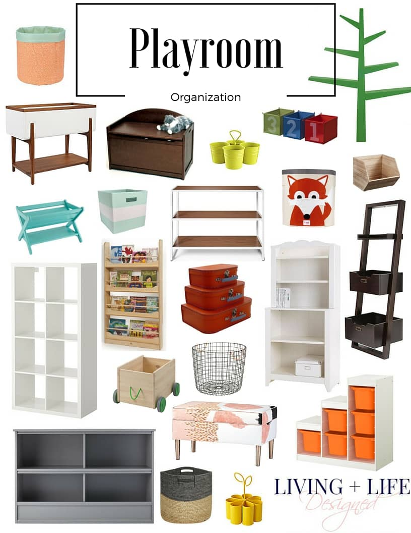 Playroom Organization Furniture And Storage Pieces For