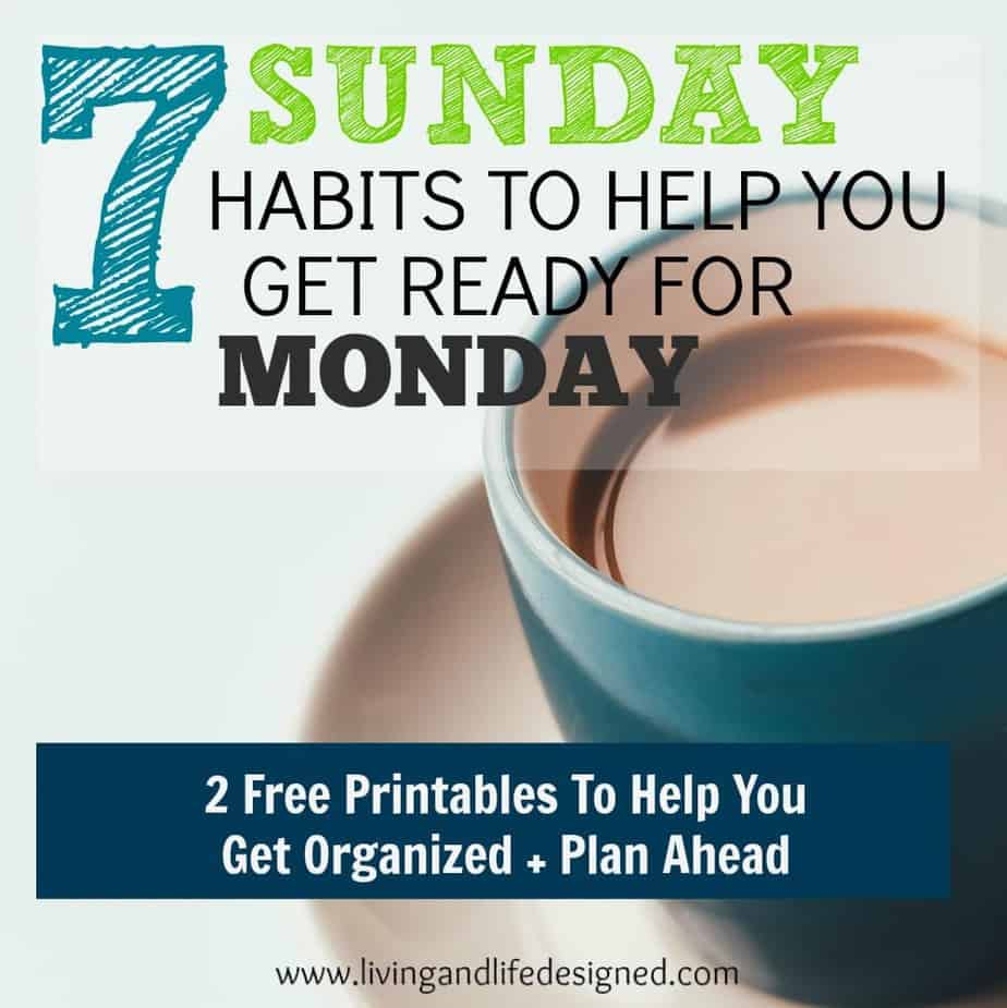 Kinder Garden: 7 Sunday Planning Habits To Help You Get Ready For Monday