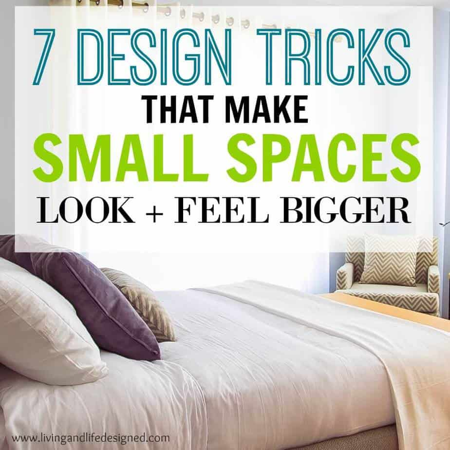 How to make small spaces instantly feel larger for The make room website