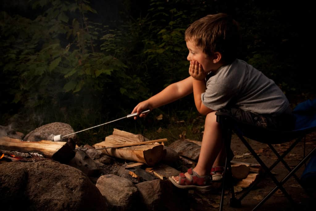 Keep Your Kids Safe at Night When You're Camping with Kids; Must Know Camping Tips for Safety and Fun