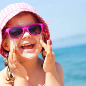 Pick a Safe Sunscreen for your Children and Family to Use without harmful ingredients and additives. How to read sunscreen labels and understand what they mean.