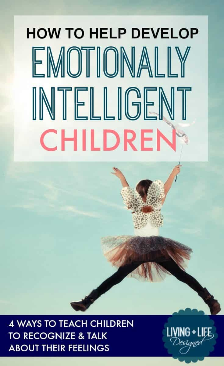 One of the keys to emotional intelligence is to give your kids the freedom to express their emotions, in their own time and without judgement. Help Kids Understand Emotions & Build Emotional Intelligence