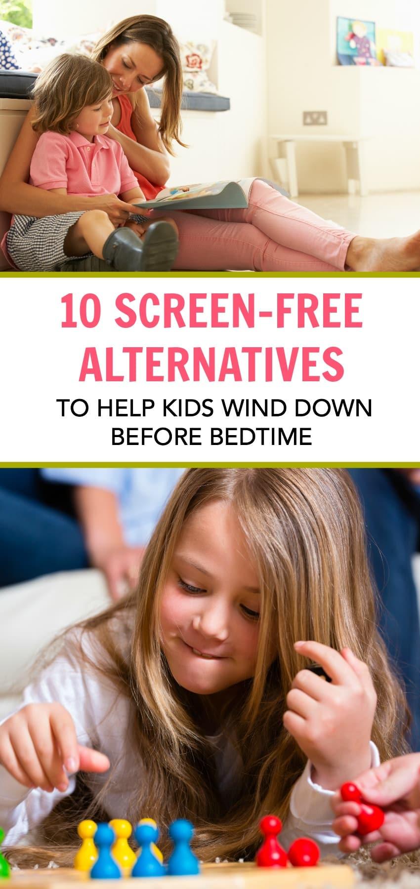 10 Screen-Free Alternatives Before Bedtime
