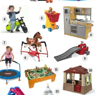 Top Gifts for Toddlers 1-3 Years Old