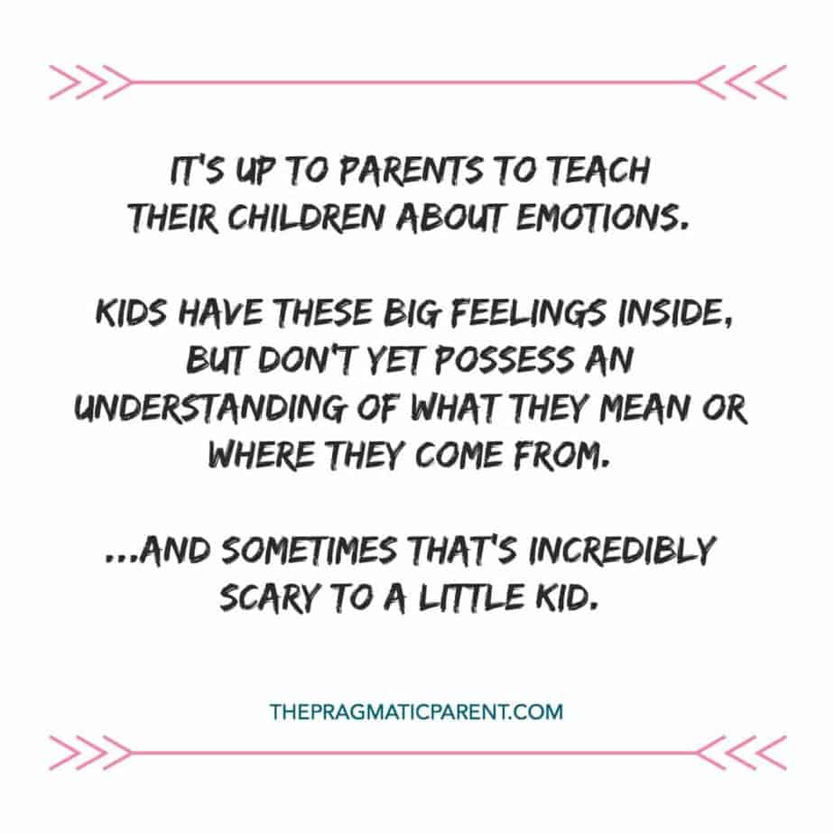 Teaching Children to Understand Their Feelings and Communicate Them, Is Essential to Positive Development