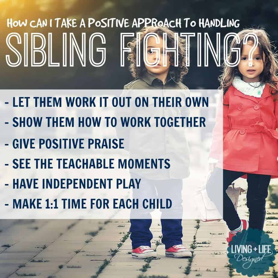 6 Proven Ways to Handle Sibling Fighting with a Positive Approach.