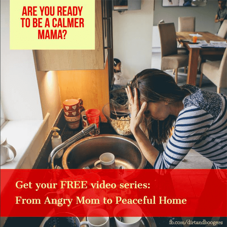 Help to Go From an Angry Mom to a Calm Mom
