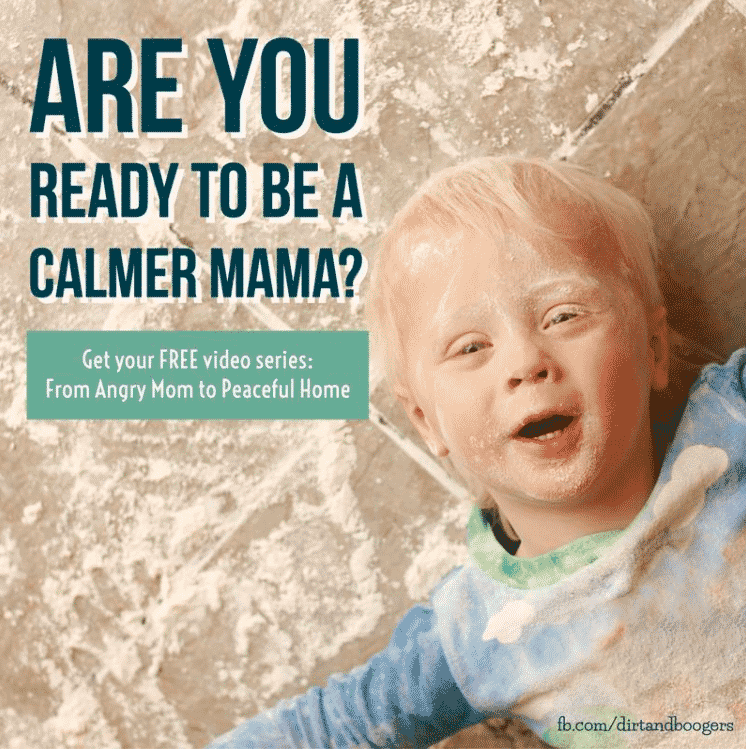 Help for the Angry Mom who Wants to be a Calm Mom