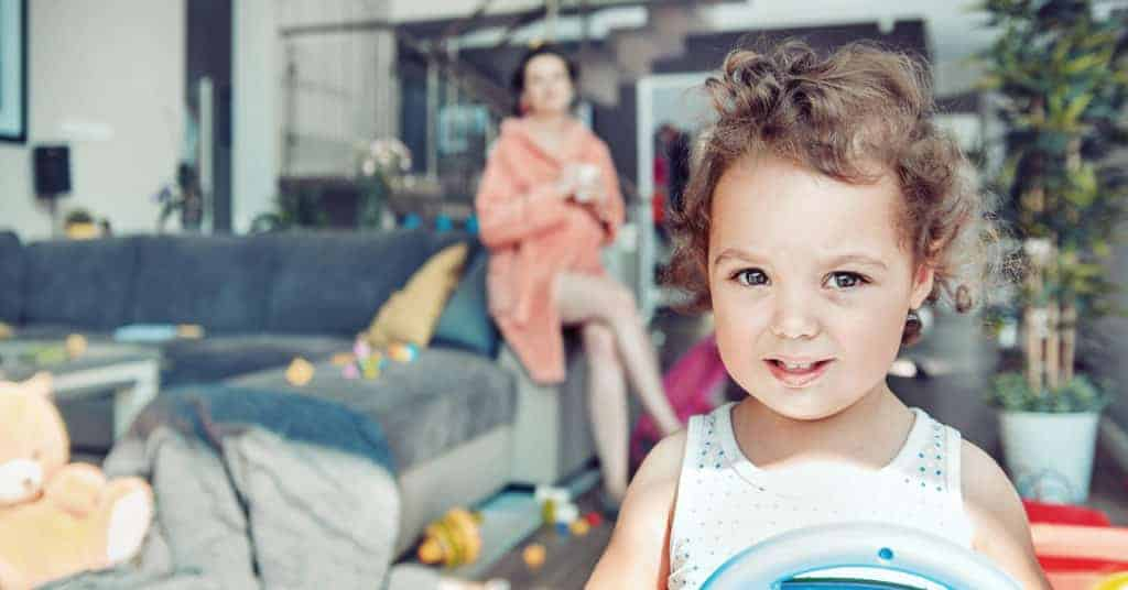 Don't let running a household keep you from being a playful parent