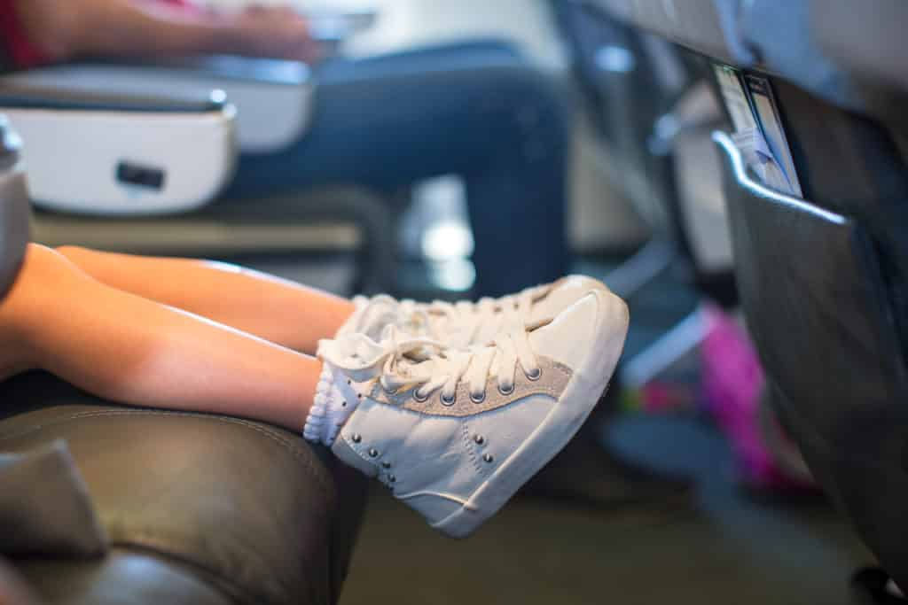 How to survive flying with your kids