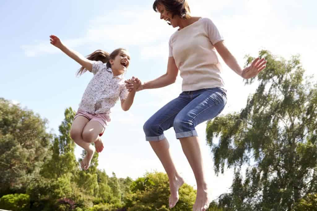 Make exercise fun for kids when you get in on the action and are active with your kids and make exercise like play