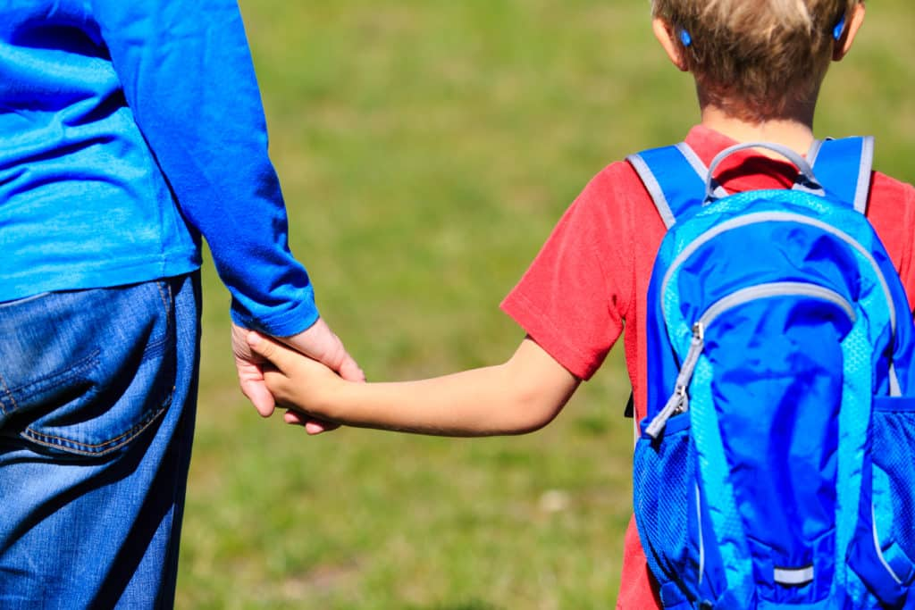 Ease Your Child's Back to School Anxiety With These Helpful Tips. How to Calm Nervousness and School Jitters. Help Your Child Get Ready and Excited to Head Back to School.