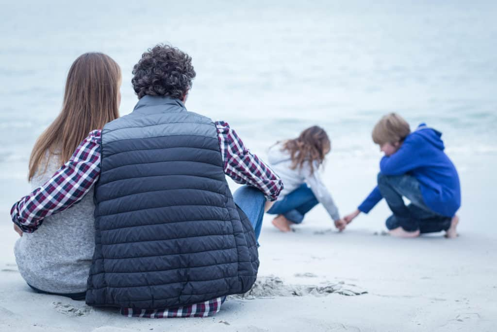 modeling a healthy relationship and strong marriage for your children is important to teach them about relationships and the ins and out of healthy communication
