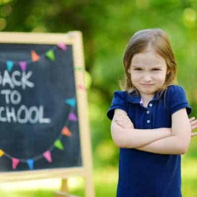 Anxiety in children is not uncommon, especially when it's back to school time. Ease Your Child's Back to School Anxiety With These Helpful Tips.