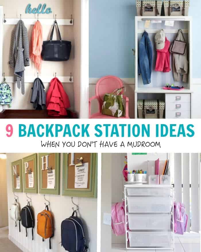 9 Ideas to Organize Backpacks & Gear When You Don't Have a ...