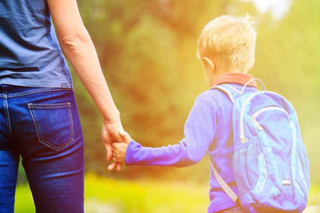 When Mom Isn't Ready for the First Day of Kindergarten. Sending your child off to Kindergarten can feel like a huge milestone and may even be accompanied by strong emotions and tears. This new period is often harder for parents and Moms especially, than it is for kids. Learn how to tame back to school mama anxiety when your child heads to kindergarten.