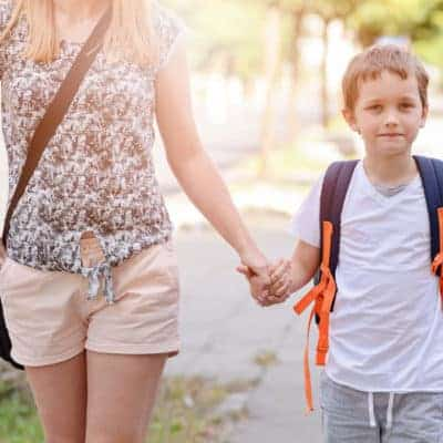 Sending your child off to Kindergarten feels like a huge milestone and it can cause anxiety and an emotional time for parents. Learn how to tame back to school mama anxiety when your child heads to kindergarten.