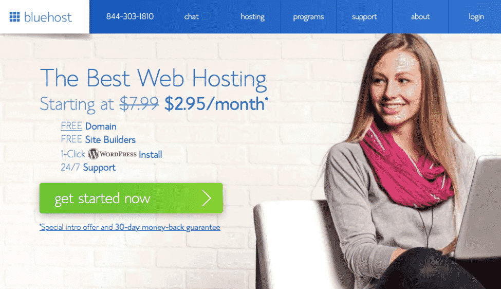 how to set up a website with bluehost. register your domain and set up a website and hosting with bluehost.