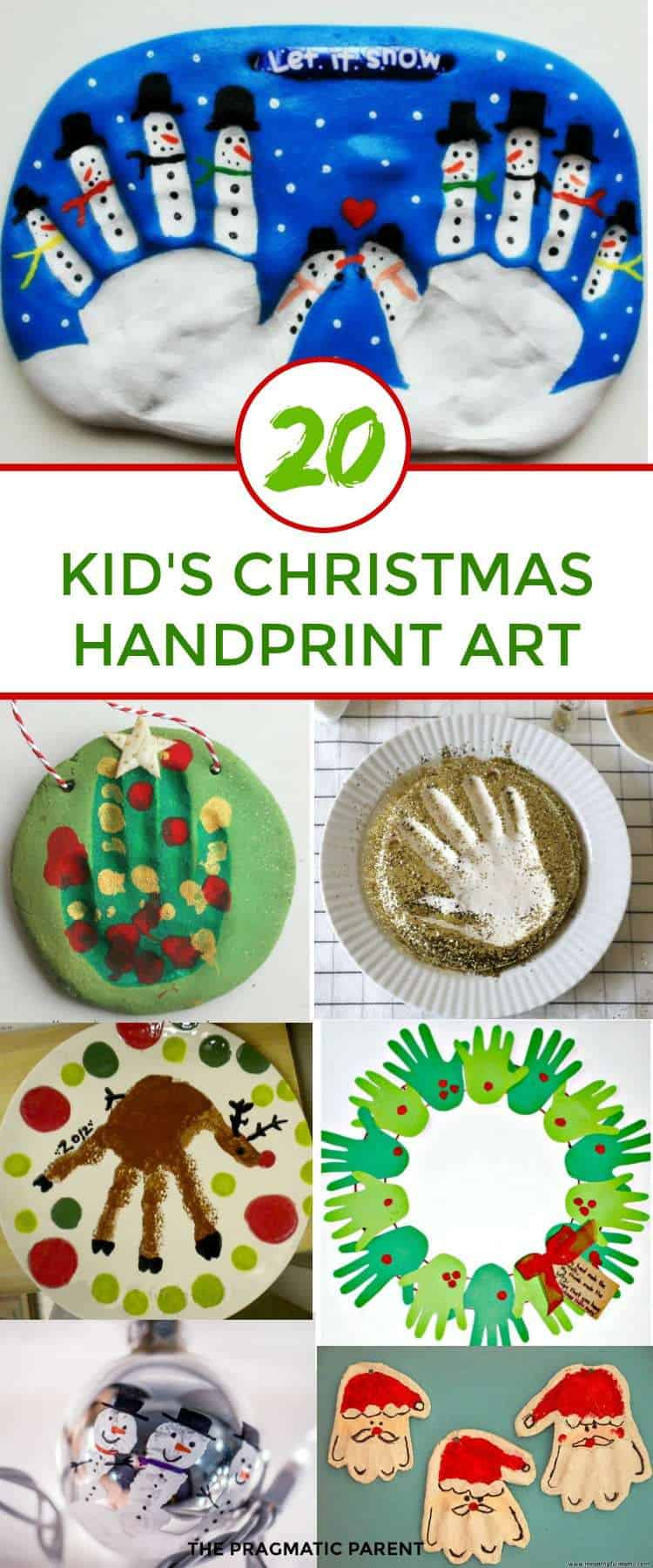 20 Fun & Easy Christmas Handprint Art for Kids # ...