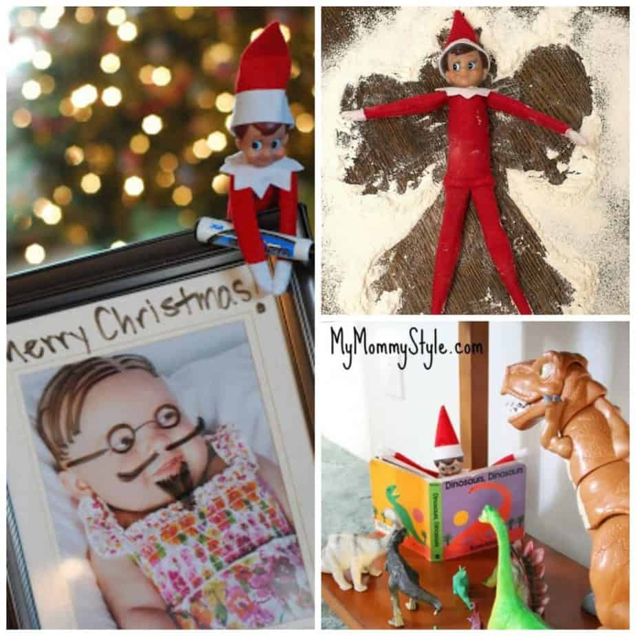 easy elf ideas: easy elf on the shelf ideas