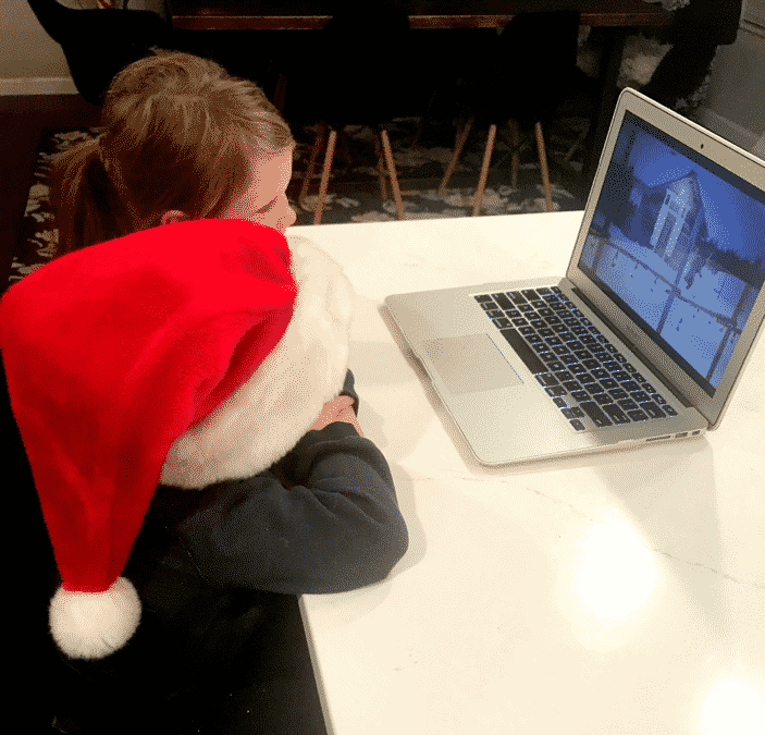 Using PNP Northpole to Watch a Special Video Message from Santa