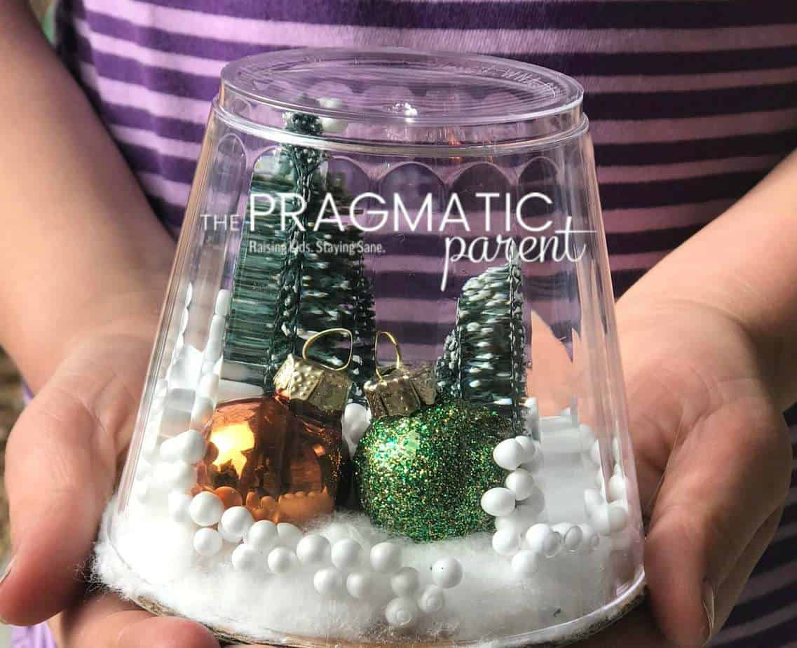 How to Make a Waterless Snow Globe Quick & Easy