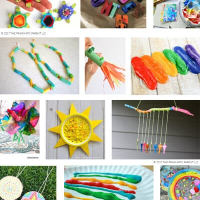 25 Easy craft ideas for kids to make at home. Kid-approved arts & craft ideas - the best craft ideas for kids you'll be proud to hang on the art wall.