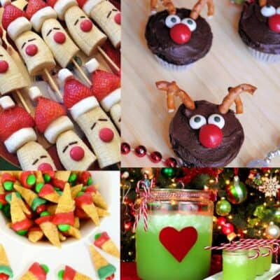 30 Fun Children's Christmas party food ideas, perfect for a festive occasion or your children's school Christmas party. Cute kid's Christmas party ideas your little ones will love!