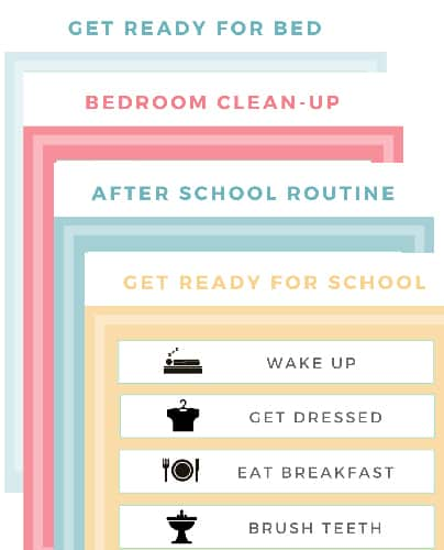 11 Helpful Charts for Kids: Chores & Daily Routine Charts For Kids of All Ages