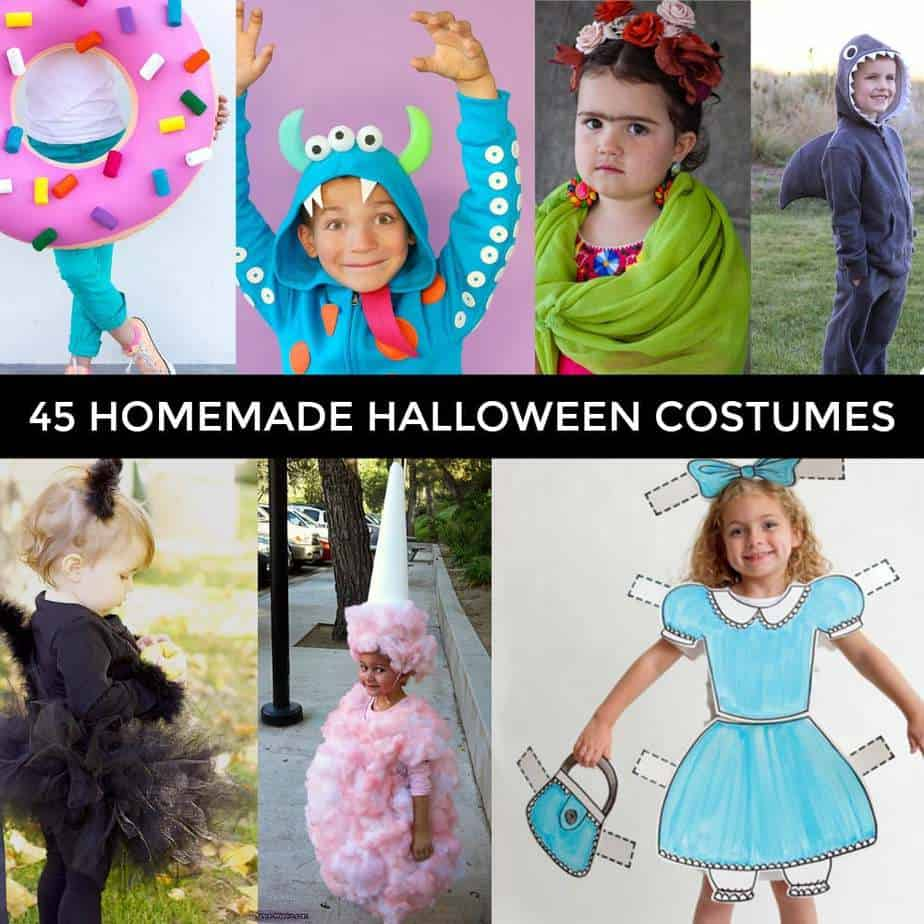 45 Easy Homemade Halloween Costumes You Can Make
