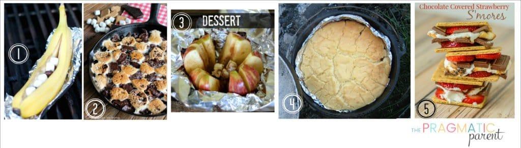 Dessert Camping Food