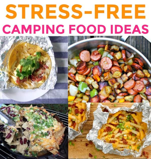 Easy Healthy Homemade Camping: 30 Stress-Free & Easy Camping Food Ideas Your Family Will