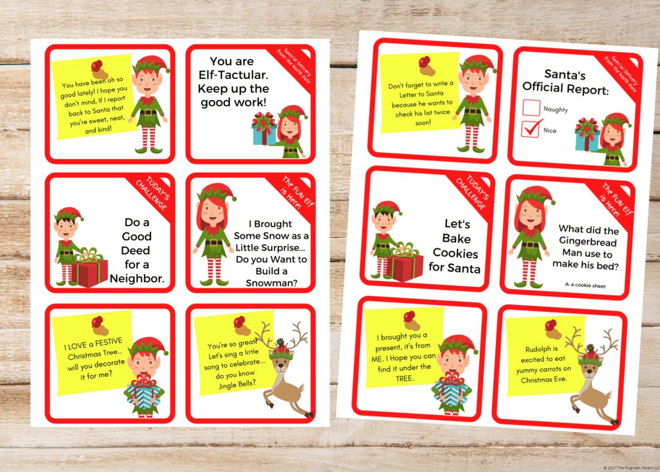 Over 285 Easy Fun Elf On The Shelf Ideas Activities Printables