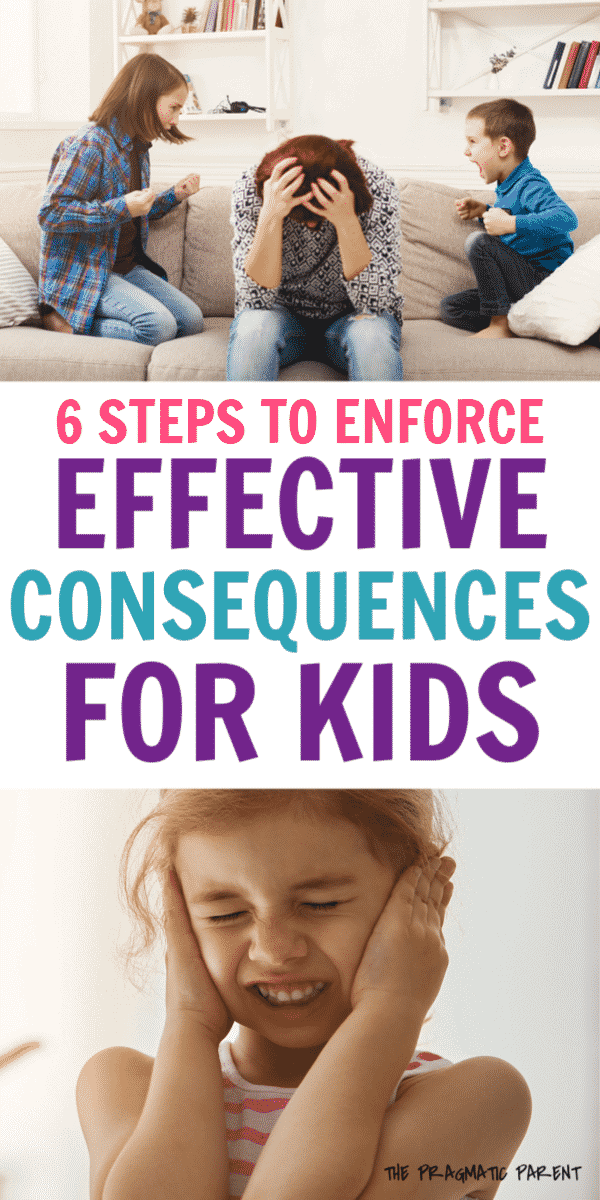 Consequences teach kids right and wrong, and learn appropriate behaviors. Effective consequences for kids reinforce positive behavior when used correctly. #effectiveconsequences #positiveparenting #consequencesforkids #positivediscipline #howtousetimeouts #useconsequencescorrectly