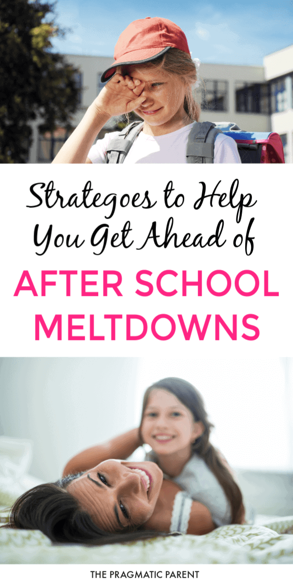 Proven strategies to help you get ahead of the after school meltdown and help your child cope without the after school attitude. Navigating the After-School Meltdown: How to Help Your Child. #afterschoolmeltdown #afterschoolattitude #afterschoolrestraintcollapse #schoolattitude #meltdownafterschool #childmeltingdownafterschool
