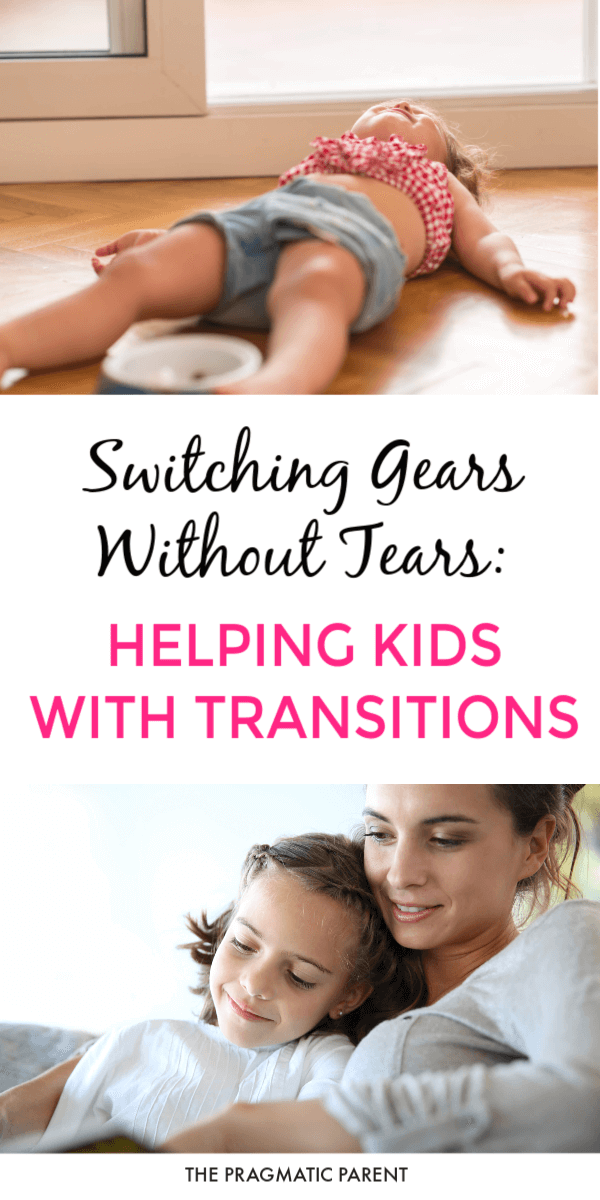 Why do kids have trouble with transitions? 6 transition strategies to help kids handle transition points in the day without tears or tantrums.  #helpkidswithtransitions #transitionstrategies #helpingkidstransition #positiveparenting #raisingkids #positiveparentingtips