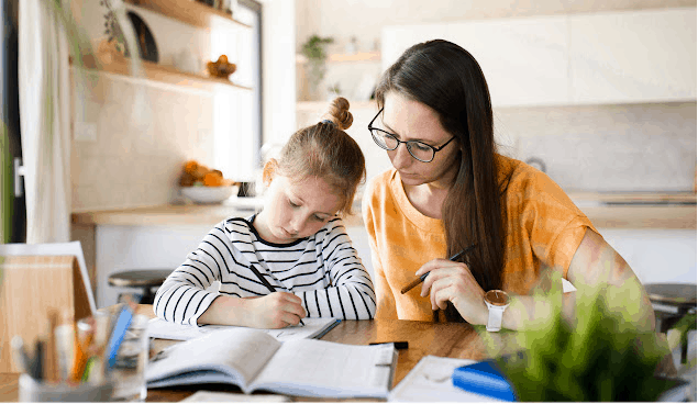 Making a flexible homeschool schedule will add structure and routine to not only your kids' day but creates a stress-free day for yourself!