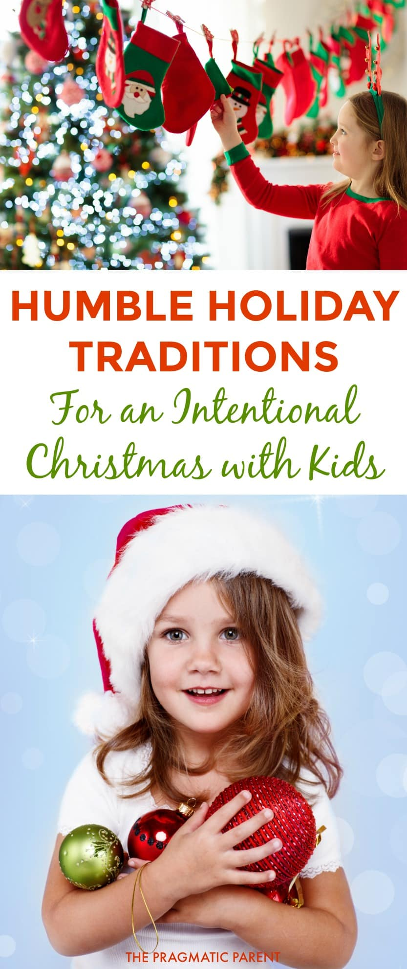 Whether you've had it with overspending and too many toys at Christmas, or want to teach your kids about empathy and gratitude during the holidays, these humble holiday traditions of an Intentional Christmas are guaranteed to create a magical experience. #intentionalchristmas #teachkidsgratitude #familytraditions #humbleholidays #familychristmastraditionsforkids #christmastraditions