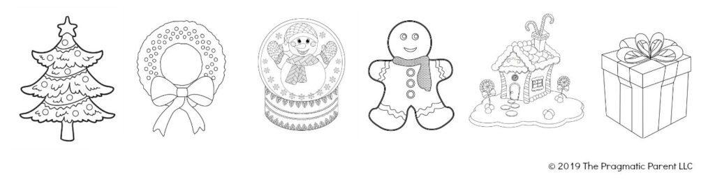 2021 Traditional Christmas Coloring Pages For Kids