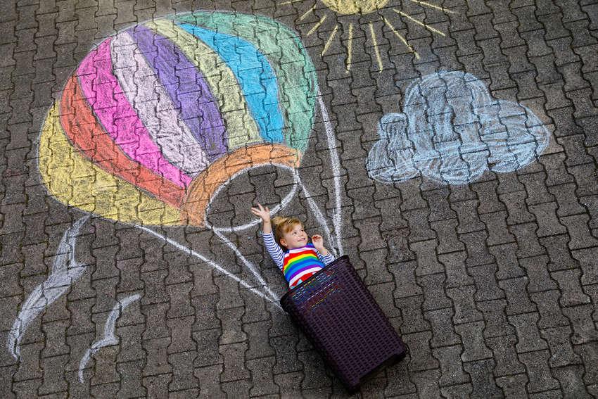 chalk art picture