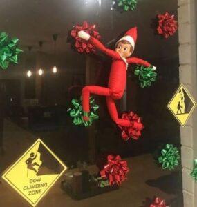elf bow climbing